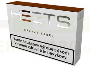 bronze label krabička