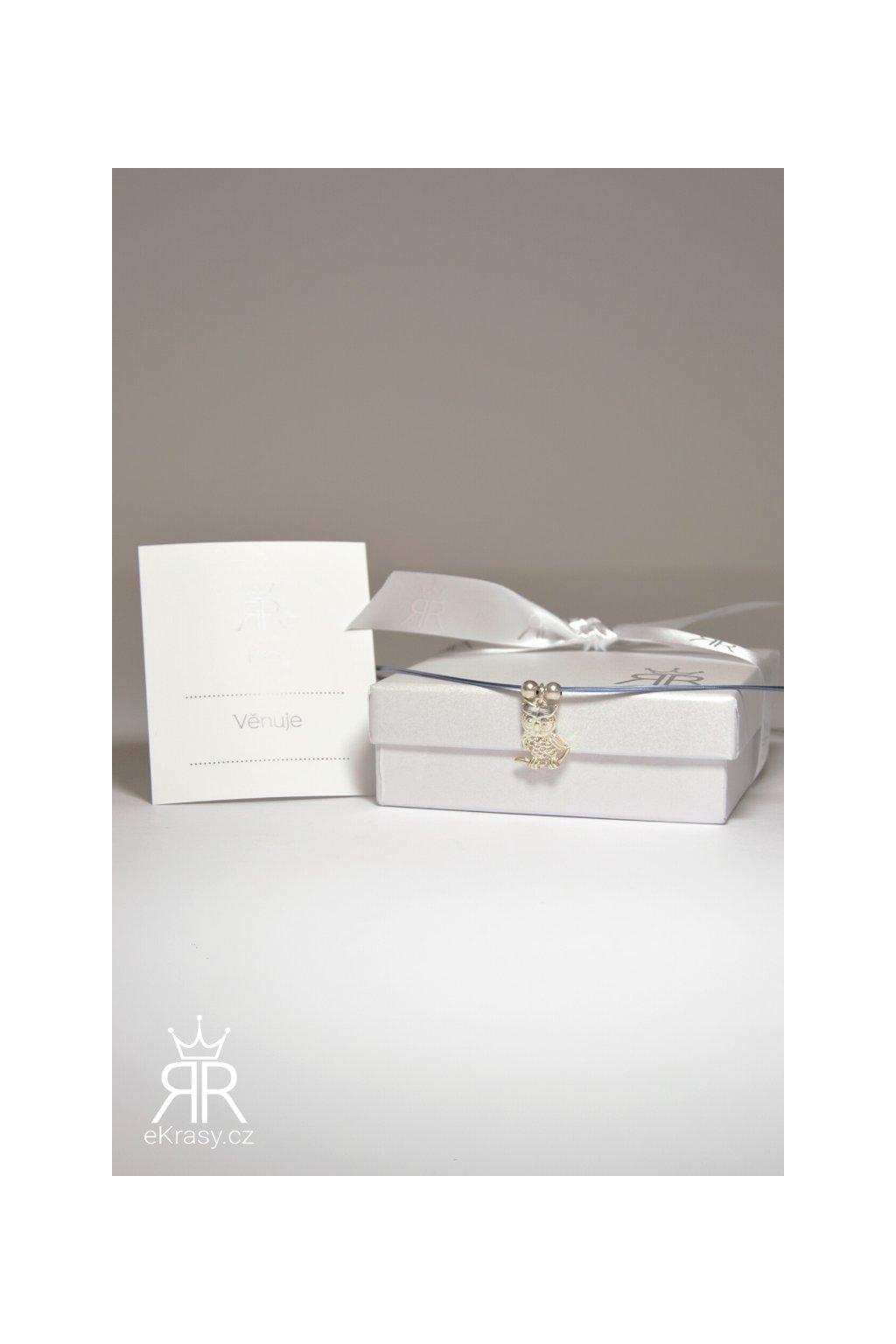 eKrasy náhrdelník Sova (3)