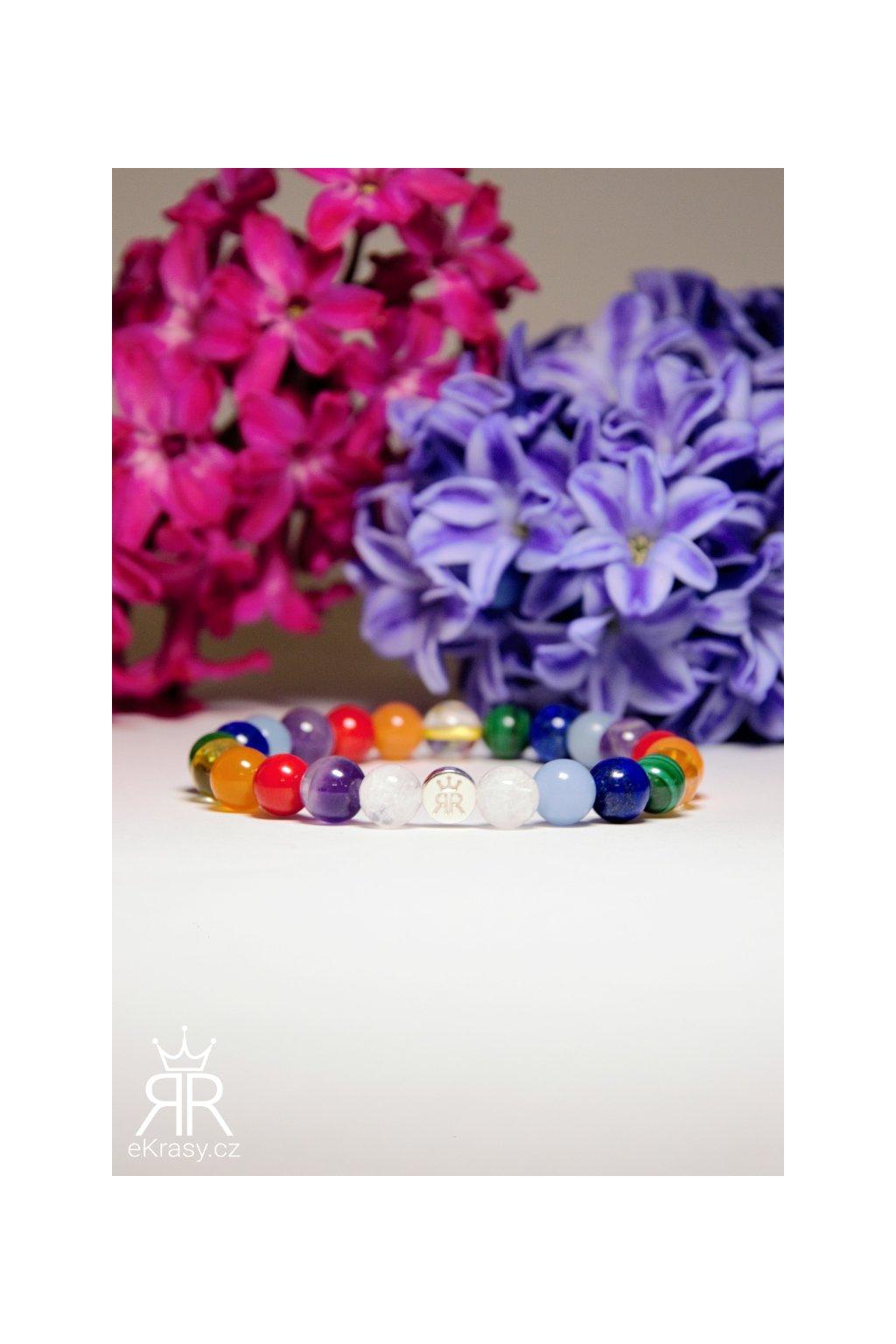 eKrasy náramek Smíšek - barevný náramek na ruku