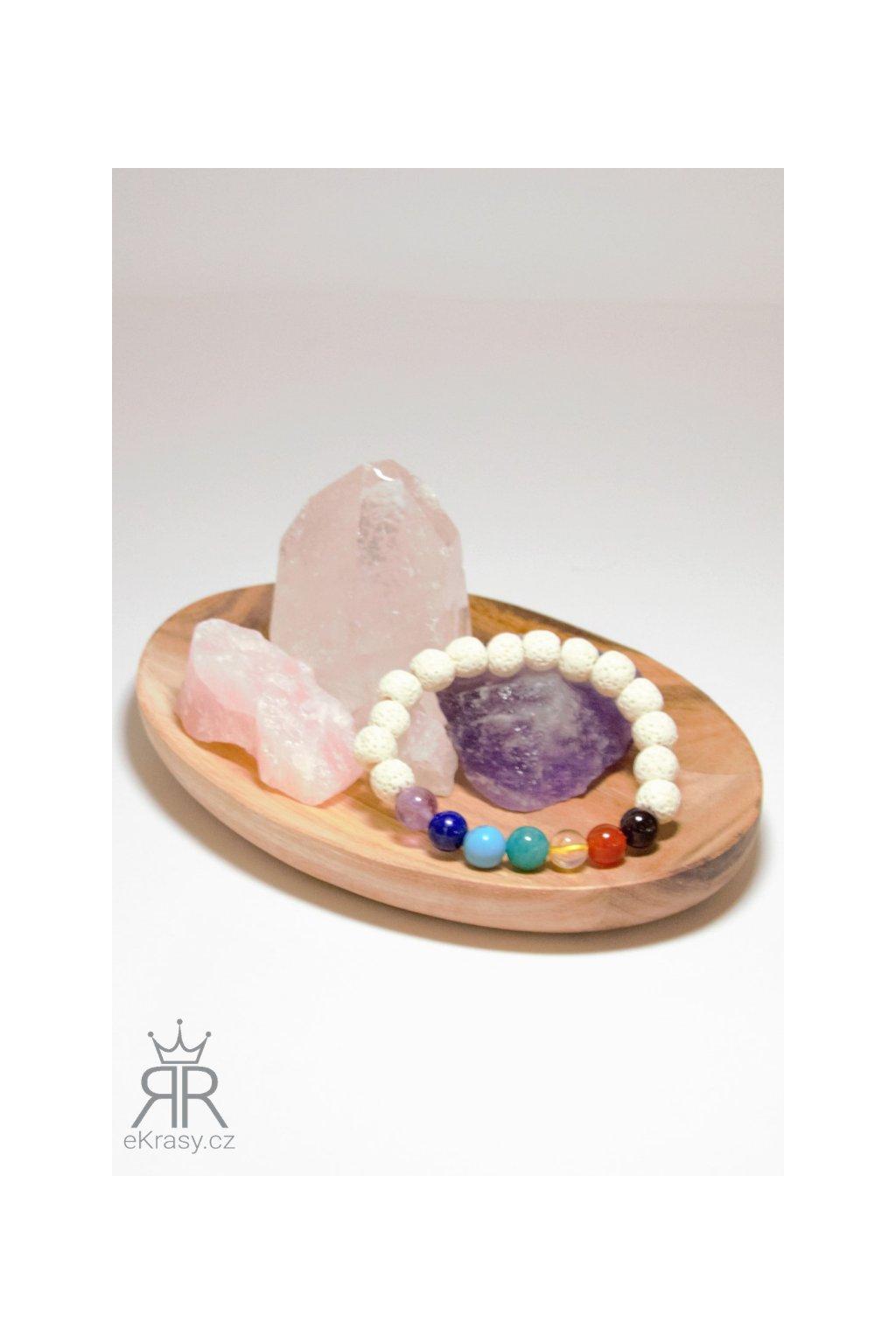eKrasy náramek Čarky Satu s přírodními kameny - krásný náramek pro ženy i muže z přírodních materiálů