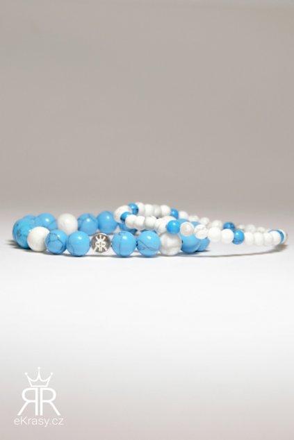 eKrasy sada Mahulena - krásná sada modrá bílá