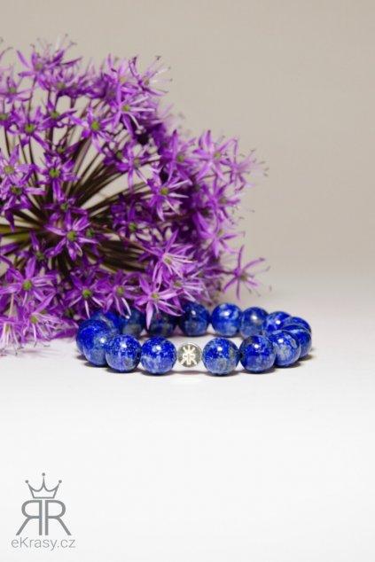 eKrasy náramek Konstancie - luxusní náramek pro ženu z přírodních kamenů - lapis lazuli
