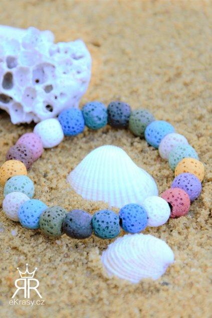 eKrasy náramek Všechny barvy světa na pláži