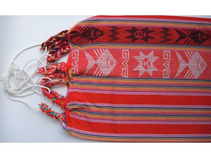HM01 malá hamaka červená