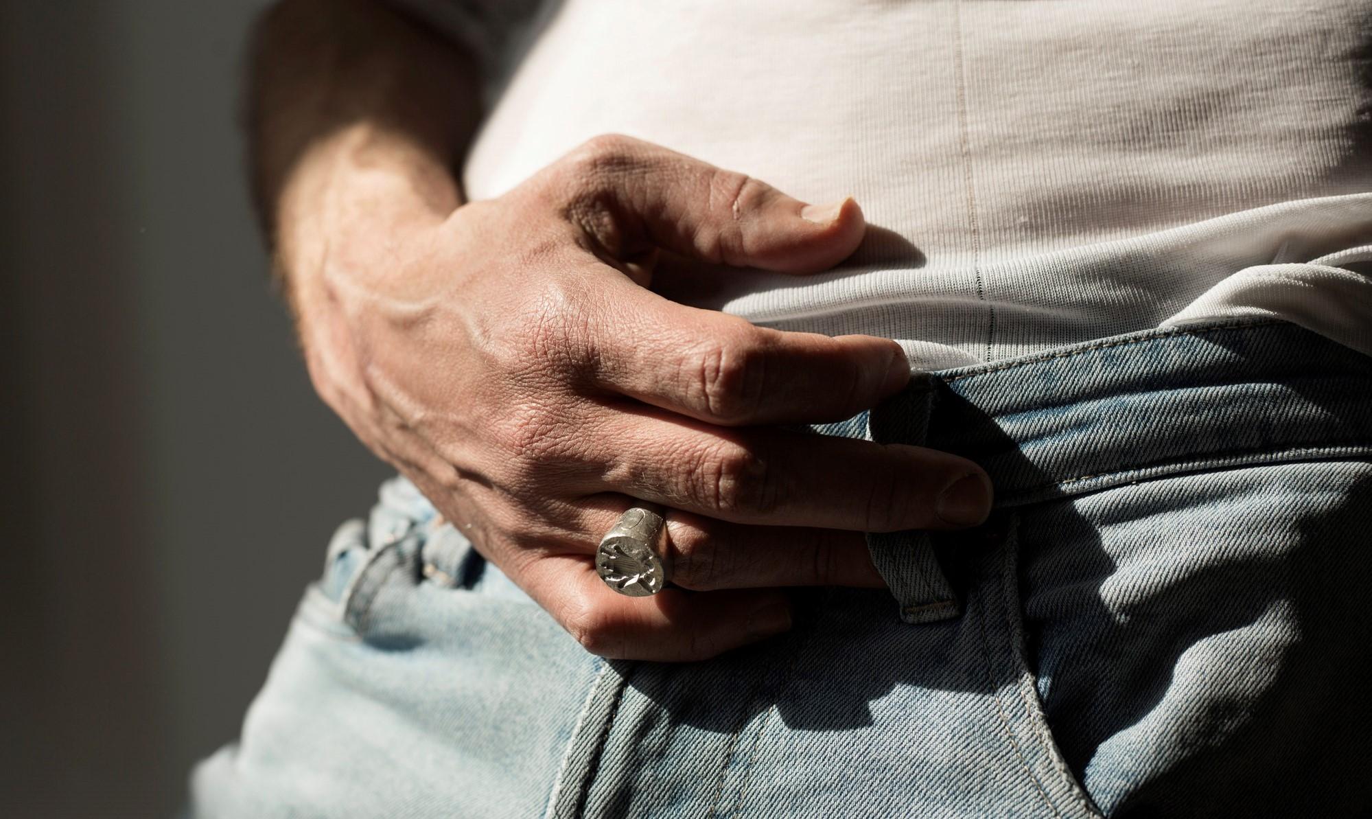 Melolontha vulgaris pečetní prsten