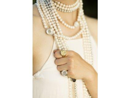 Pečetní prsten Melolontha vulgaris - Bůh tě chraň před královnou, synu.