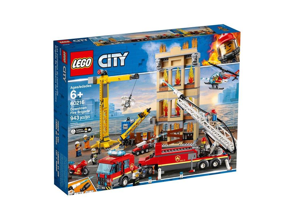 LEGO City - Hasiči v centru města