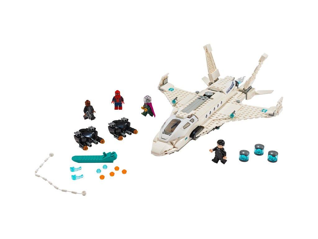 LEGO Super Heroes - Tryskáč Tonyho Starka a útok dronu - LEGO76130