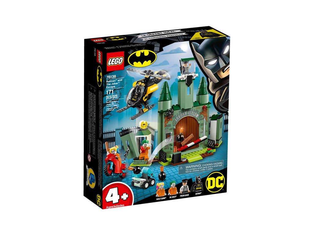 LEGO Super Heroes - Batman a útěk Jokera - LEGO76138
