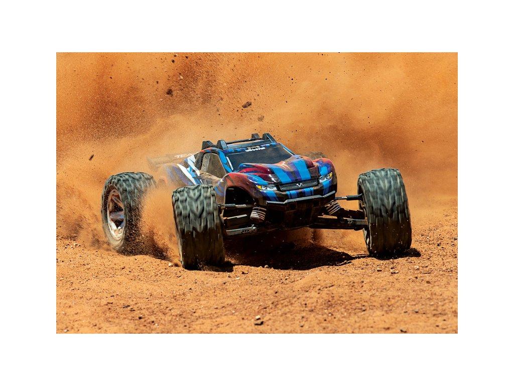 Traxxas Rustler 1:10 VXL 4WD TQi RTR zelený - TRA67076-4-GRN