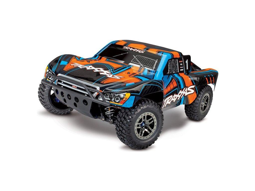Traxxas Slash Ultimate 1:10 4WD VXL TQi RTR oranžový - TRA68077-4-ORN