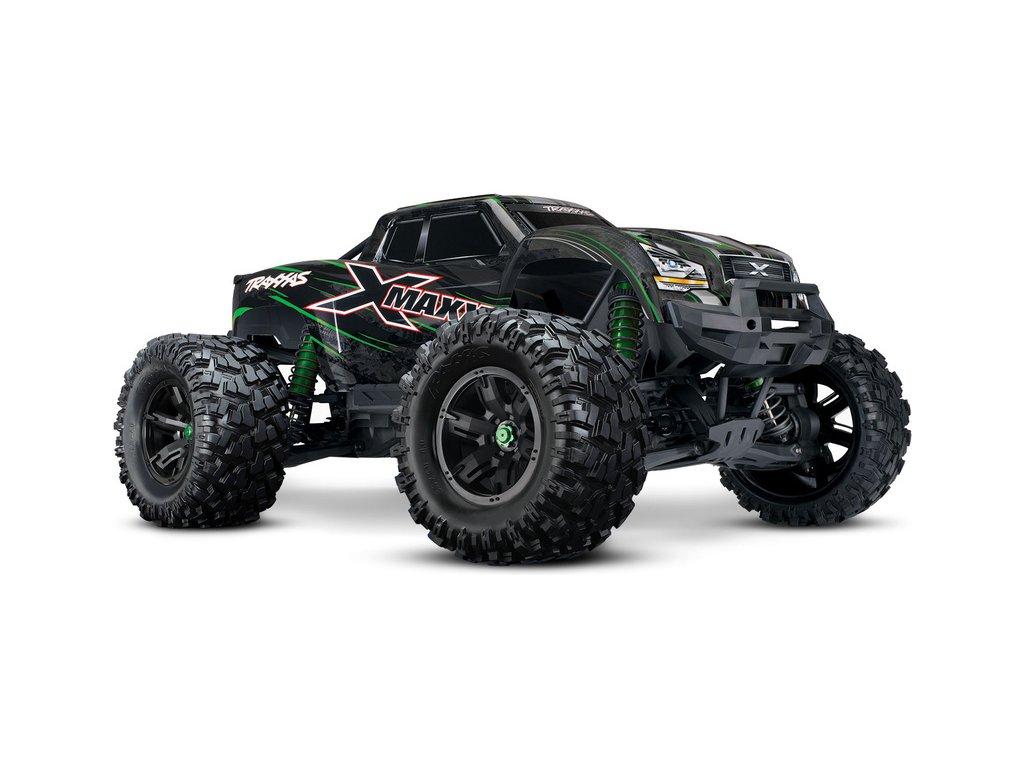Traxxas X-Maxx 8S 1:5 4WD TQi RTR zelený - TRA77086-4-GRN