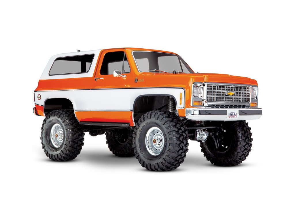 Traxxas TRX-4 Chevrolet K5 Blazer 1:10 RTR oranžový - TRA82076-4-ORN