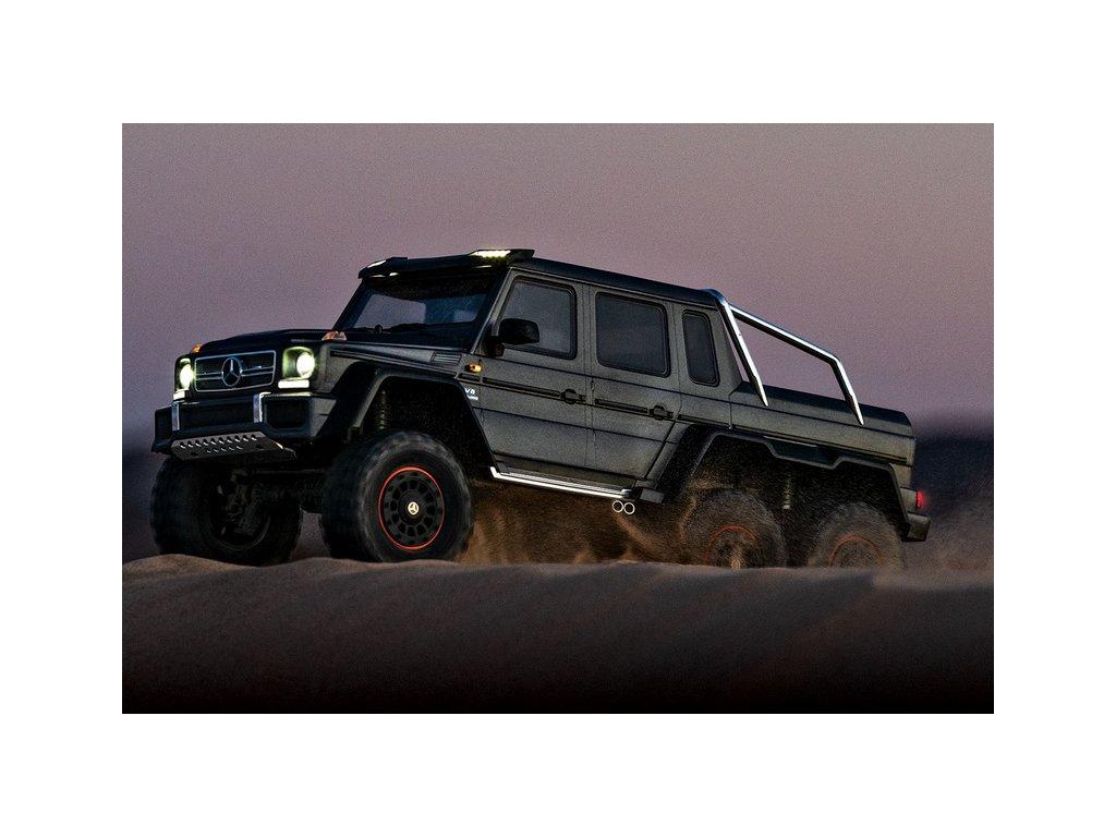 Traxxas TRX-6 Mercedes G 63 6x6 1:10 TQi RTR černý - TRA88096-4-BLK