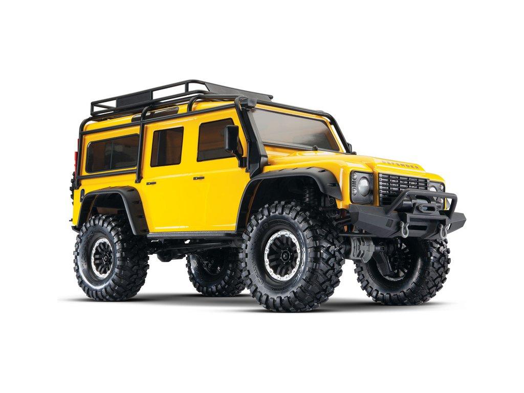 Traxxas TRX-4 Land Rover Defender 1:10 TQi RTR žlutý - TRA82056-4-YLW