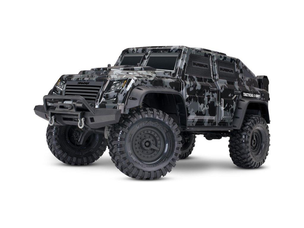 Traxxas TRX-4 Tactical Unit 1:10 TQi RTR - TRA82066-4