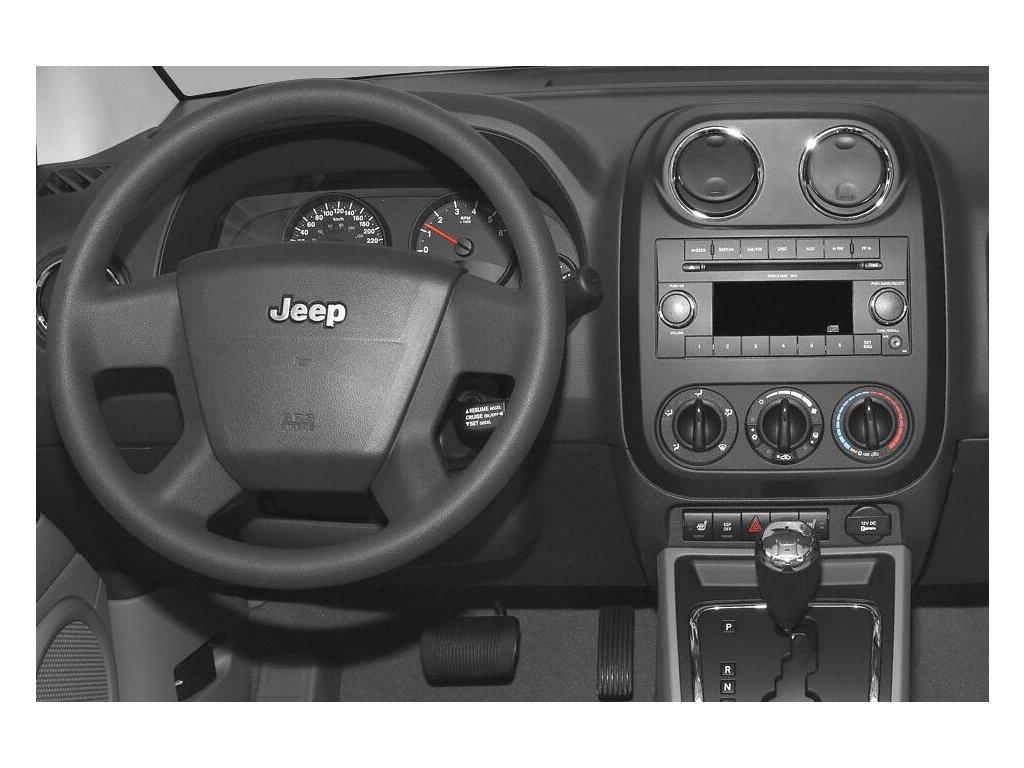 Rámeček 2DIN autorádia  Chrysler / Jeep / Dodge - 372370