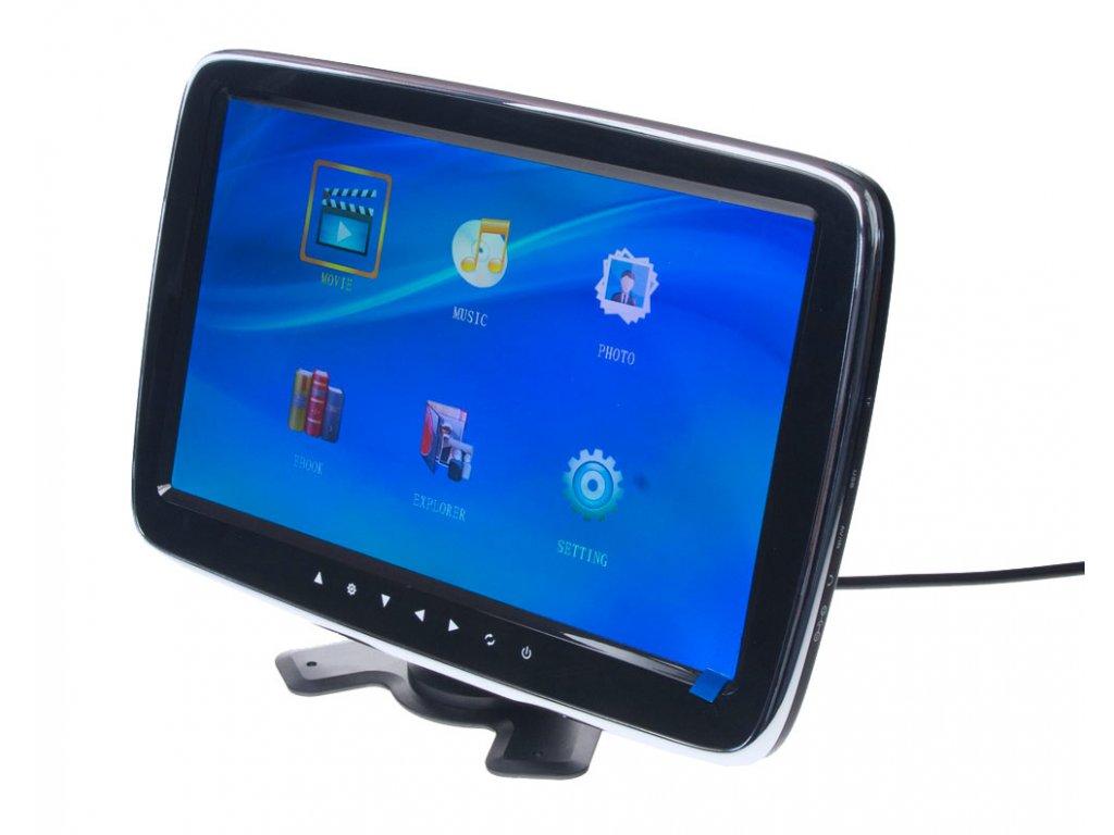 "LCD monitor 10,1"" na opěrku/palubní desku s microSD/USB/FM modulátor - ic-1015"