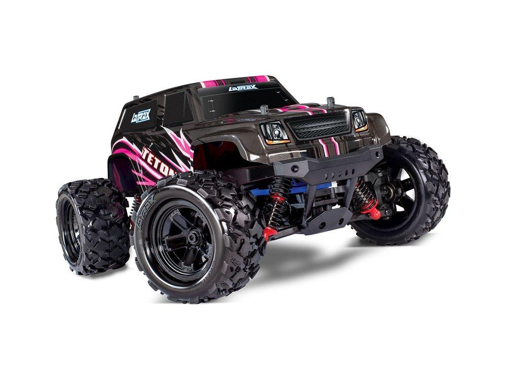 Traxxas Teton 1:18 4WD RTR růžový - TRA76054-1-PINK