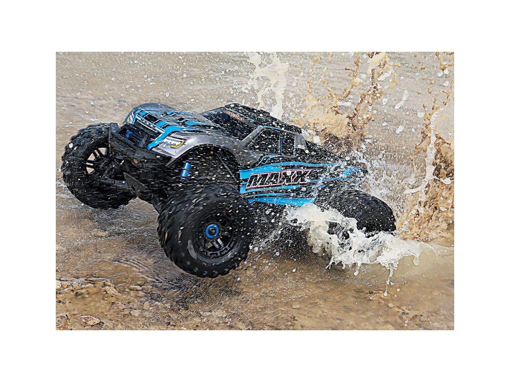 Traxxas Maxx 1:8 4WD TQi RTR zelený - TRA89076-4-GRN