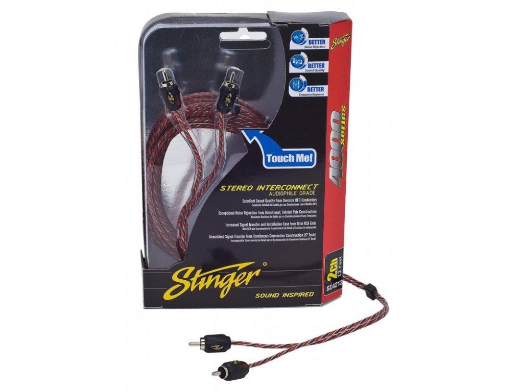 Stinger CINCH kabel 3,6 m - SI4212