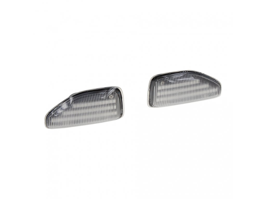 LED dynamické blinkry Dacia Duster, Sandero, Logan oranžové - 96DA02