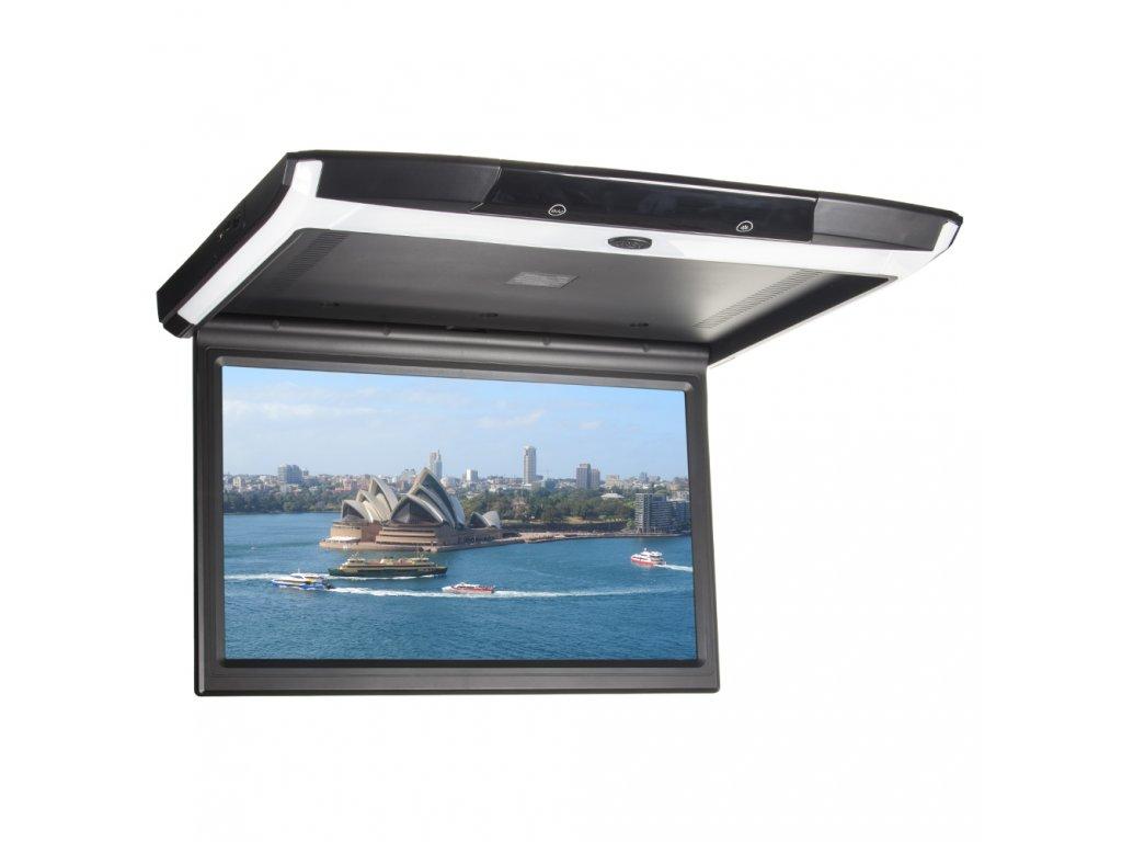 """Stropní LCD monitor 15,6"""" s OS. Android USB/SD/HDMI/FM, dálkové ovládání se snímačem pohybu, černý - ds-156Abl"""
