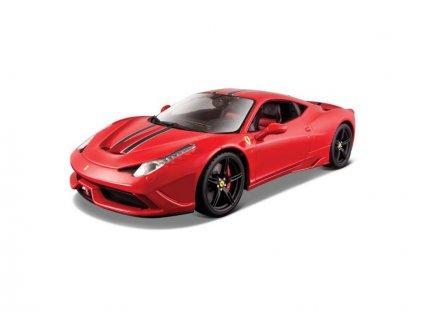 Bburago Signature Ferrari 458 Speciale 1:18 červená - BB18-16903