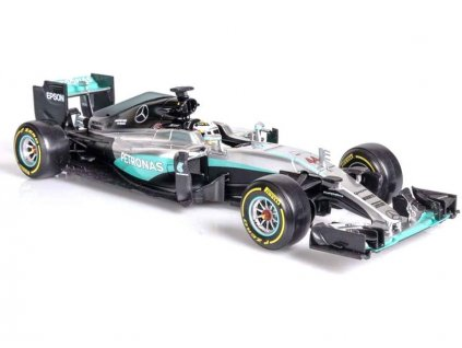 Bburago Plus Mercedes AMG Petronas W07 1:18 Hamilton - BB18-18001H