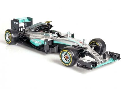 Bburago Plus Mercedes AMG Petronas W07 1:18 Rosberg - BB18-18001R