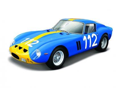 Bburago Ferrari 250 GTO 1:24 modrá - BB18-26305