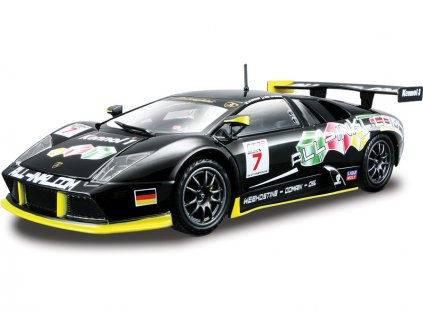 Bburago Lamborghini Murciélago FIA GT 1:24 černá - BB18-28001