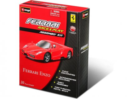Bburago stavebnice aut Ferrari 1:43 (sada 12ks) - BB18-35200