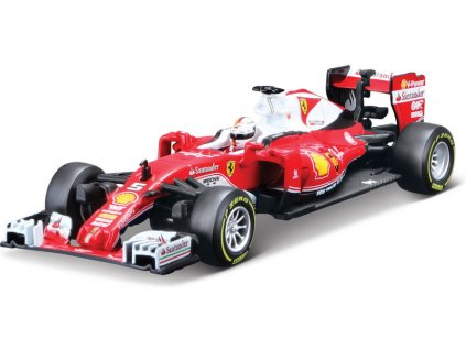 Bburago Signature Ferrari SF16-H 1:43 #5 Vettel - BB18-36804V