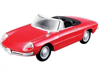 Bburago Alfa Romeo Spider 1996 1:32 červená - BB18-43211