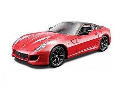 Bburago Ferrari 599 GTO 1:32 metalická červená - BB18-44024