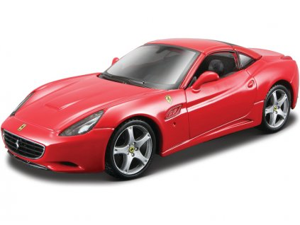 Bburago Kit Ferrari California 1:32 červená - BB18-45207