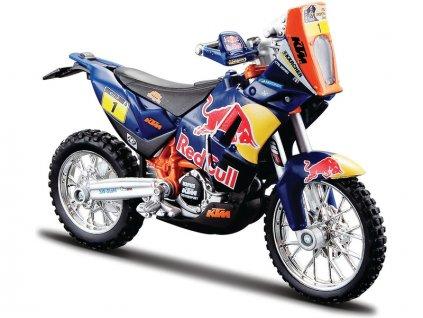 Bburago Red Bull KTM 450 Rally Dakar 1:18 #1 - BB18-51071