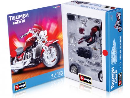 Bburago stavebnice motocyklů 1:18 (sada 24ks) - BB18-55000