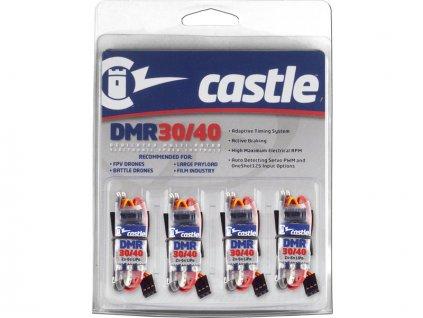 Castle regulátor DMR 30/40 multirotor (4ks) - CC-010-0156-00