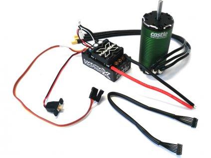 Castle motor 1415 2400ot/V senzored 5mm, reg. Mamba X - CC-010-0160-01