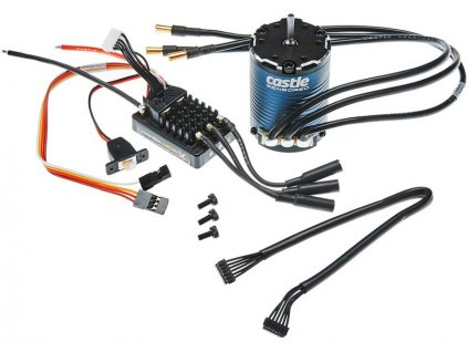 Castle motor 1406 1900ot/V, reg. Mamba Micro X SP - CC-010-0162-01