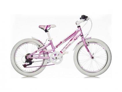 """DINO Bikes - Dětské kolo 20"""" Aurelia Game Kit růžové - DB-1020G"""