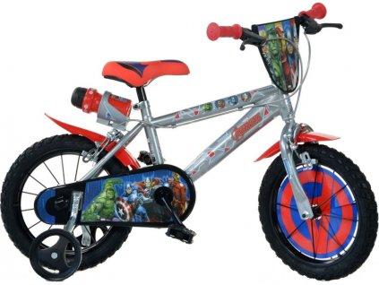 "DINO Bikes - Dětské kolo 14"" Avengers - DB-414UAV2"