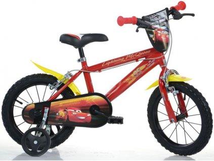"""DINO Bikes - Dětské kolo 14"""" Cars 3 - DB-414UCS3"""