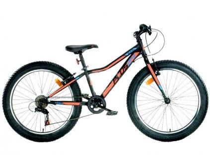 """DINO Bikes - Dětské kolo 24"""" Aurelia 424 černá - DB-424UP"""
