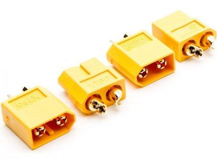 XT-60 konektor 3.5mm samec + samice (2) - DYNC0140