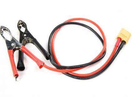 Napájecí DC kabel s krokodýlky - XT60 - DYNC1109