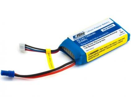 E-flite LiPo 7.4V 1300mAh 20C EC2 - EFLB13002S20