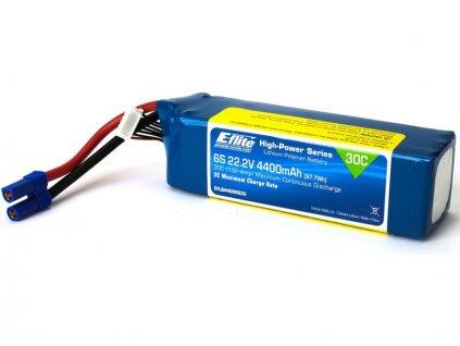 E-flite LiPo 22.2V 4400mAh 30C EC5 - EFLB44006S30